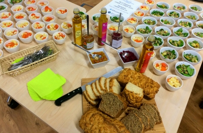 A fine selection of regional specialities kindly supplied by Northern Ireland producers